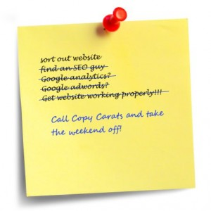 SEO copywriting services from the SEO copywriter
